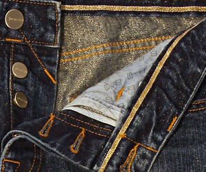 Jeans Infused With Real Gold Fibers