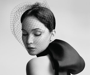 Jennifer Lawrence Miss Dior campaign by Willy Vanderperre