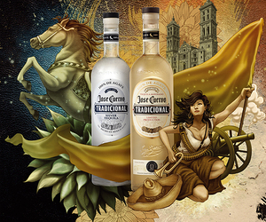 Jose Cuervo Tradicional Illustration by Yuta Onoda