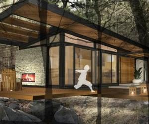 Karo-cabin-modular-movable-green-m