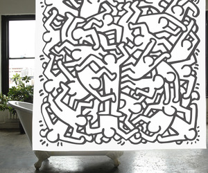 Keith-haring-shower-curtain-m