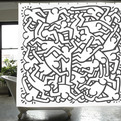 Keith-haring-shower-curtain-s