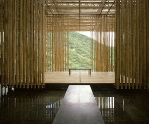 Kengo Kuma Designs The Great (Bamboo) Wall House in China