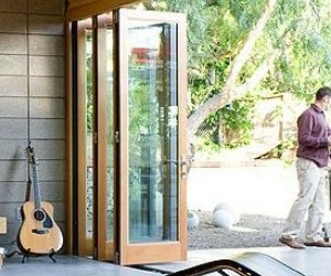 Lacantina-wood-clad-bi-fold-doors-m
