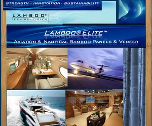 LAMBOO® ELITE™ - Bamboo For Aviation & Natuical Industry