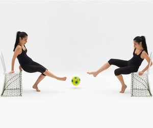 Lazy Football Chair by Emanuele Magini