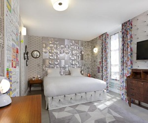 Le Crayon Hotel in Paris by Julie Gauthron,