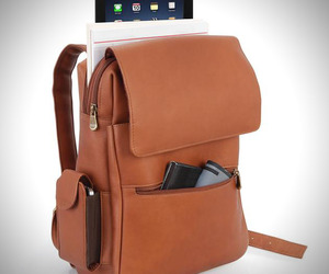 Leather Backpack for iPad