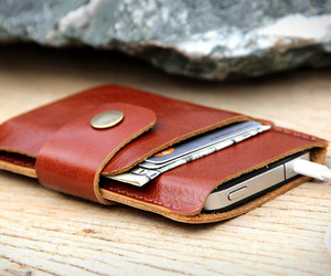 Leather iPhone Wallet | by Sakatan Leather