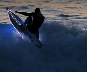 LED Surfboards Light Up the Ocean