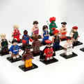 Lego-street-fighter-mini-figure-set-s
