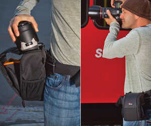 Lens Exchange Case, by Lowepro