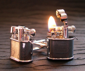 Lighter-cufflinks-m