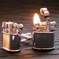 Lighter-cufflinks-s