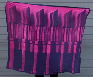 Lip Service Silk Scarf for Valentine's Day