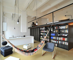 Loft Apartment, Former Radio Technics Factory by Inblum