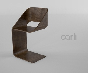 Loop chair by Brian Carli