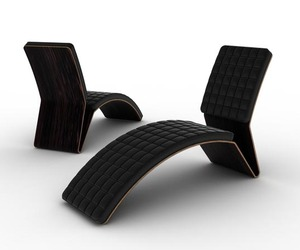 LOUNGE CHAIR NO.1 by Michal Bonikowski