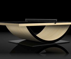 Luxurious and Custom Table Tennis Tables by Eleven Ravens