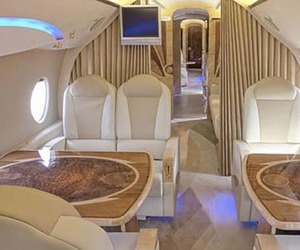 Luxury-interior-airplane-tupolev-134-m
