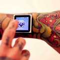 Magnetic-implants-attach-your-ipod-to-your-wrist-s