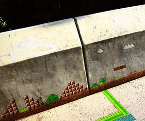 Mario-bros-game-comes-alive-outside-m