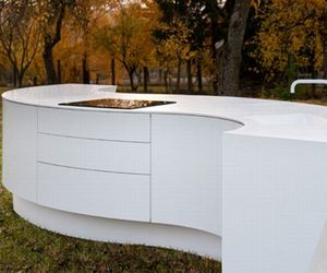 Maru Design Kitchen By the Architectural Firm DODK.