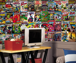 Marvel Comic Books Wallpaper Mural