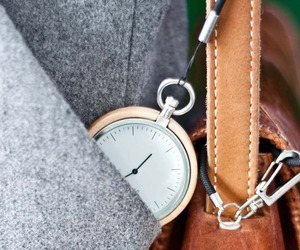 Marvelous Modern Wood Pocketwatches
