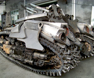 Megatron-tank-steel-sculpture-m