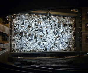 MetaFoil Curtain for Oslo Opera House