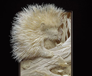 Mind-Blowing Paper Sculptures by Calvin Nicholls