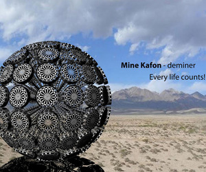 Mine Kafon, Land Mine Clearing Device