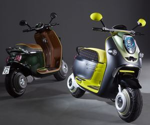 MINI Unveils Electric Scooter Designs