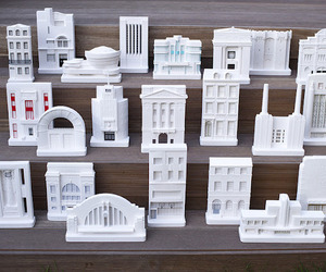 Miniature Architectural Models by Chisel &amp; Mouse