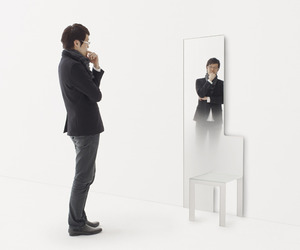 Mirror-chair-and-mirror-stool-by-nendo-m
