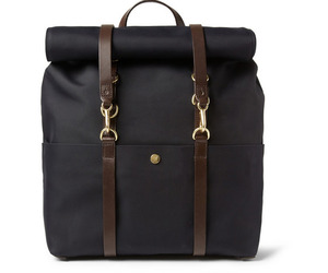 Mismo-leather-trimmed-canvas-backpack-m