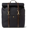 Mismo-leather-trimmed-canvas-backpack-s