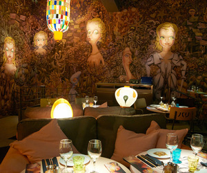 Miss Kō Restaurant in Paris by Philippe Starck