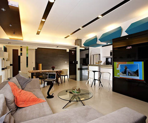 Modern Bachelor Pad 63 by Dillon Chen