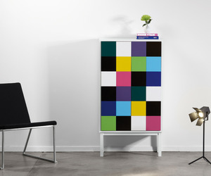 Modern Cabinets with Character and Colorful Identity
