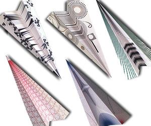 Modern-paper-planes-for-wallpaper-magazine-m