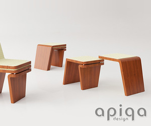 Moduline chair by Apiqadesign
