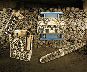 Morbid Luxury From Philippe Tournaire for S.T. Dupont.