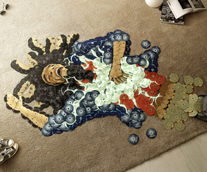 Mosaics-of-rock-icons-using-their-cds-m