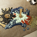 Mosaics-of-rock-icons-using-their-cds-s