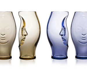 Murana, Hand Blown Glass Vases by Fabio Novembre
