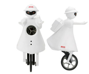 MURATA GIRL : A Unicycle Riding Robot!