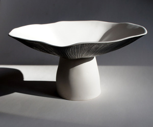 Mushroom Bowl by John Newdigate