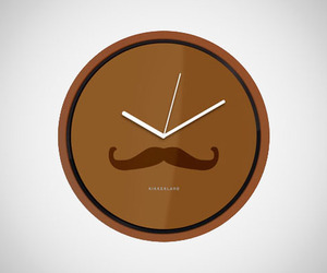 Mustache-wall-clock-by-kikkerland-m